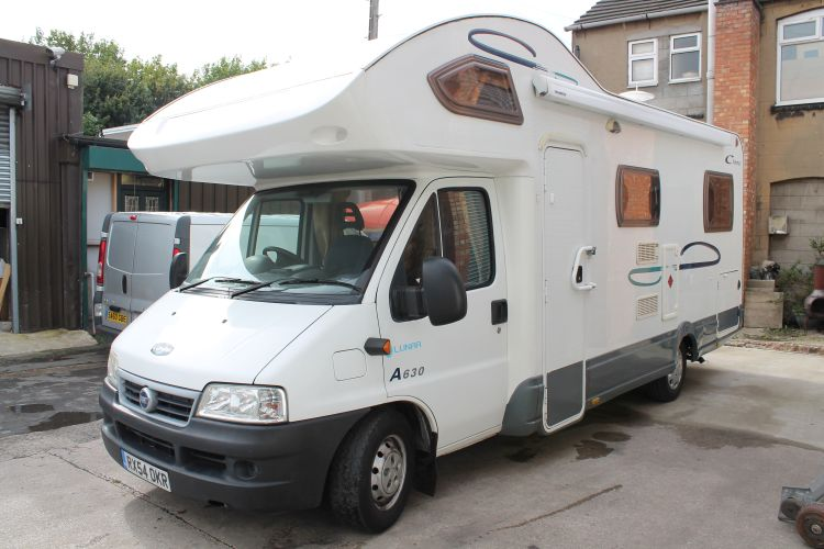 Lunar Champ 5 berth £20,495 Low Mileage Image